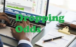 dropping odds