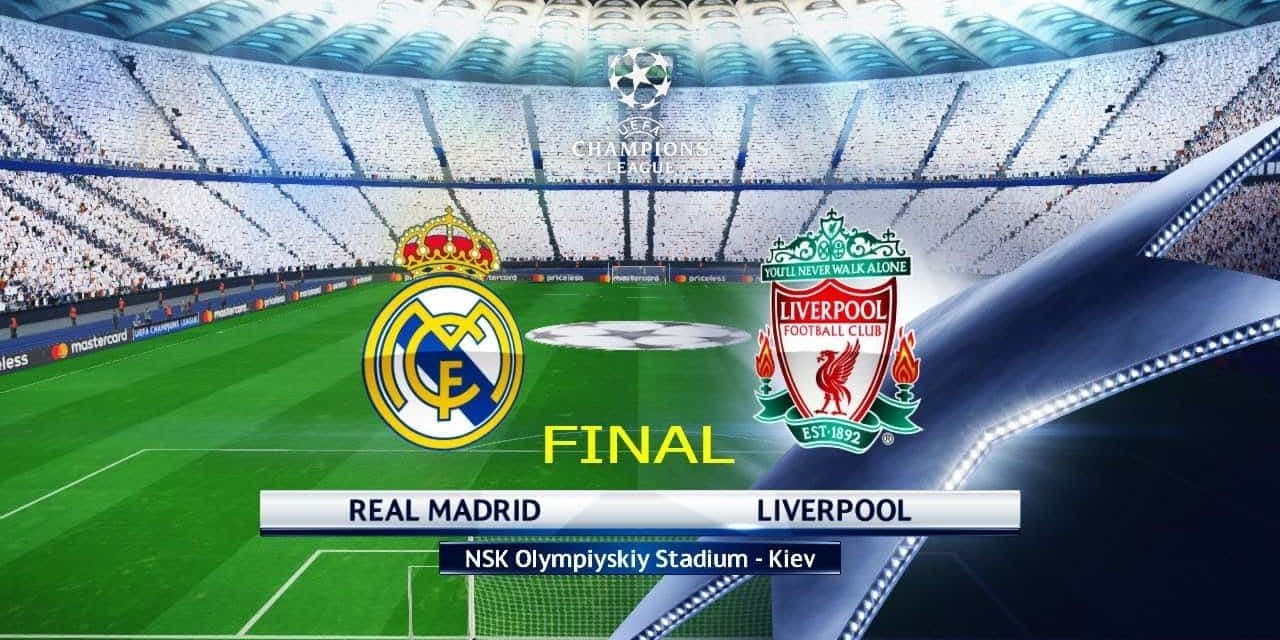 Finale di Champions League Real Madrid – Liverpool: analisi tattica, statistiche e pronostico