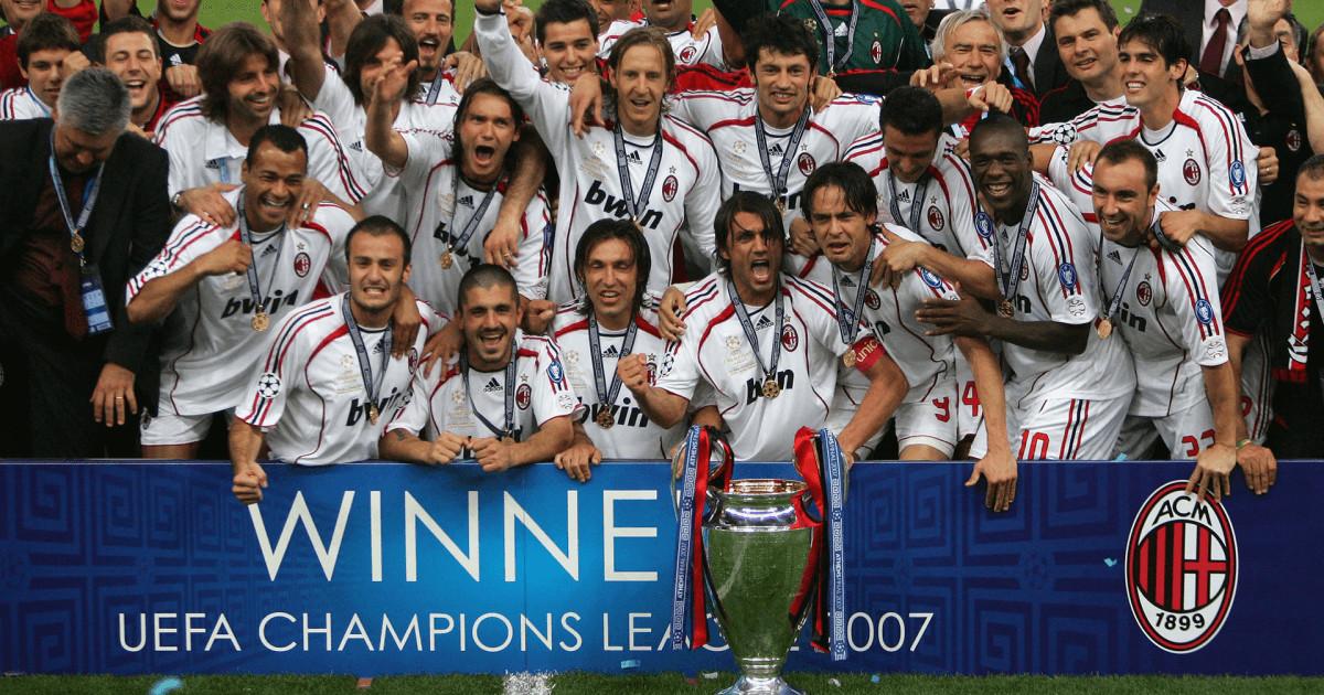 trofei milan champions league