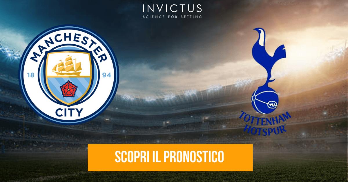 Manchester City – Tottenham: statistiche, analisi tattica e pronostico