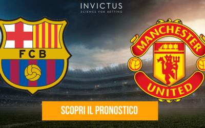 Barcellona – Manchester United: statistiche, analisi tattica e pronostico
