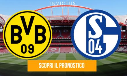 Borussia Dortmund – Schalke 04: analisi tattica, statistiche e pronostico