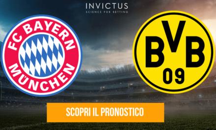 Bayern Monaco-Borussia Dortmund: analisi tattica, statistiche e pronostico