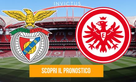 Benfica – Eintracht Francoforte: analisi tattica, statistiche e pronostico