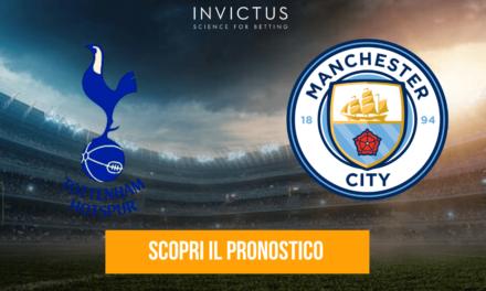 Tottenham – Manchester City: analisi tattica, statistiche e pronostico