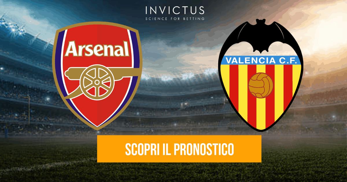 Arsenal – Valencia: analisi tattica, statistiche e pronostico