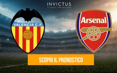 Valencia – Arsenal: analisi tattica, statistiche e pronostico