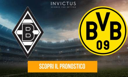 Borussia Monchengladbach – Borussia Dortmund: analisi tattica, statistiche e pronostico