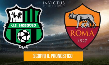 Sassuolo – Roma: analisi tattica, statistiche e pronostico