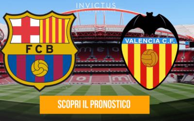 Barcellona – Valencia: analisi tattica, statistiche e pronostico