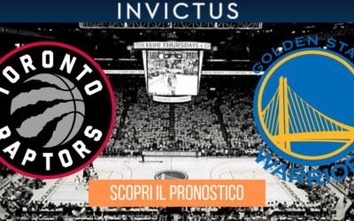 Toronto Raptors – Golden State Warriors, gara 1: analisi tattica, statistiche e pronostico