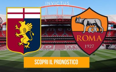 Genoa – Roma: analisi tattica, statistiche e pronostico