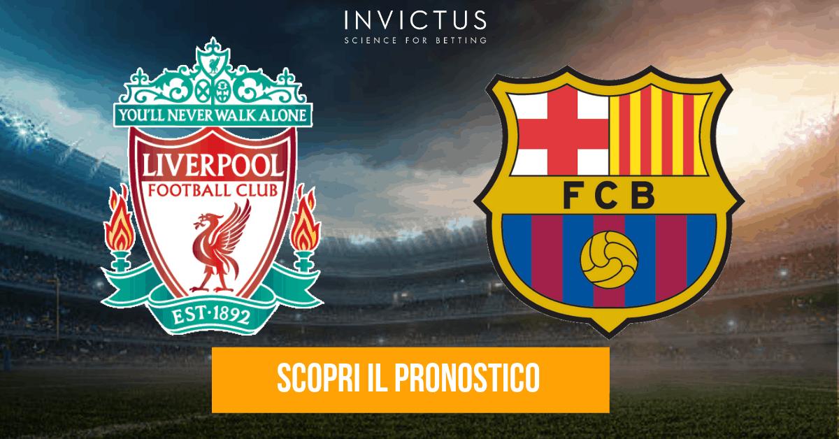 Liverpool – Barcellona: analisi tattica, statistiche e pronostico