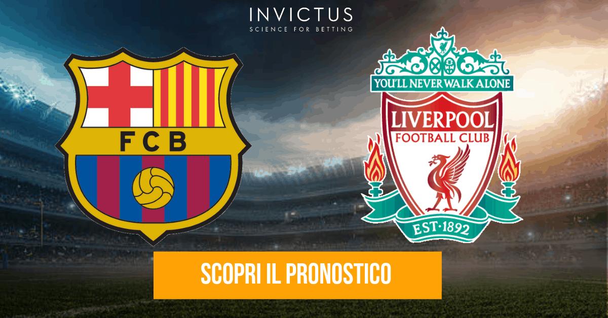 Barcellona – Liverpool: analisi tattica, statistiche e pronostico