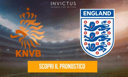 Olanda – Inghilterra: analisi tattica, statistiche e pronostico