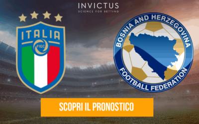 Italia – Bosnia-Erzegovina: analisi tattica, statistiche e pronostico