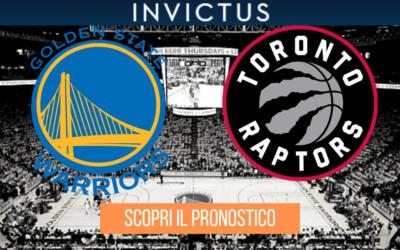 Golden State Warriors – Toronto Raptors, gara 6: analisi tattica, statistiche e pronostico