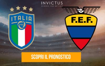 Italia U20 – Ecuador U20: analisi tattica, statistiche e pronostico