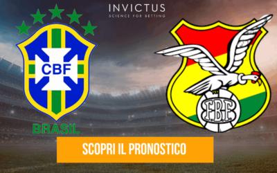 Brasile – Bolivia: analisi tattica, statistiche e pronostico