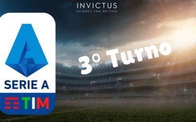 Sorprese e risultati Serie A: 3 giornata