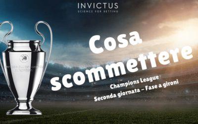 Pronostici Champions League: cosa scommettere nella 2 giornata
