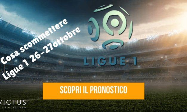 Pronostici Ligue 1: 26-27 ottobre