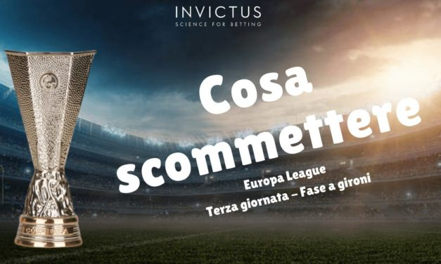 Pronostici Europa League 3 giornata