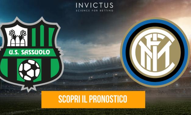 Sassuolo – Inter: analisi tattica, statistiche e pronostico
