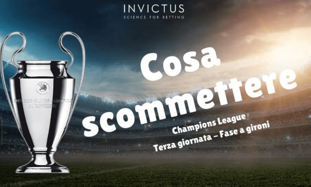 Pronostici Champions League 3 giornata