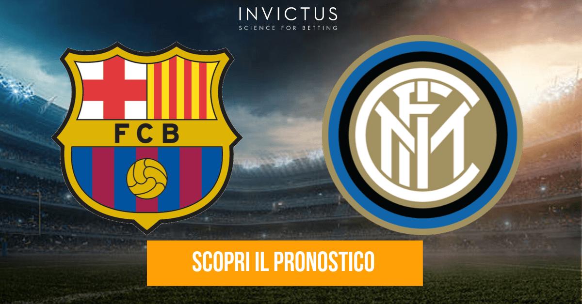 Barcellona – Inter: analisi tattica, statistiche e pronostico