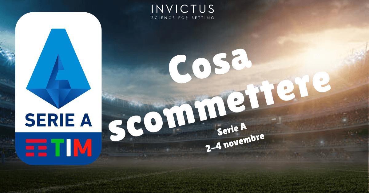 Pronostici Serie A: 2-4 novembre