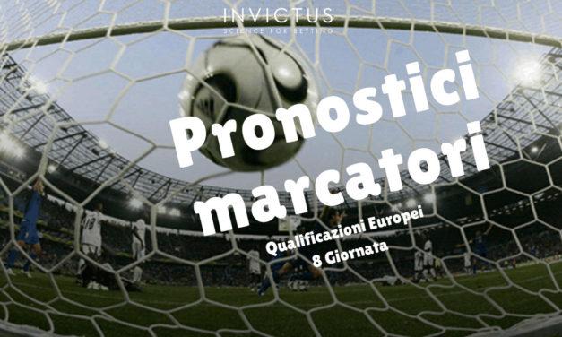 Pronostici marcatori Qualificazioni Europei 8 giornata