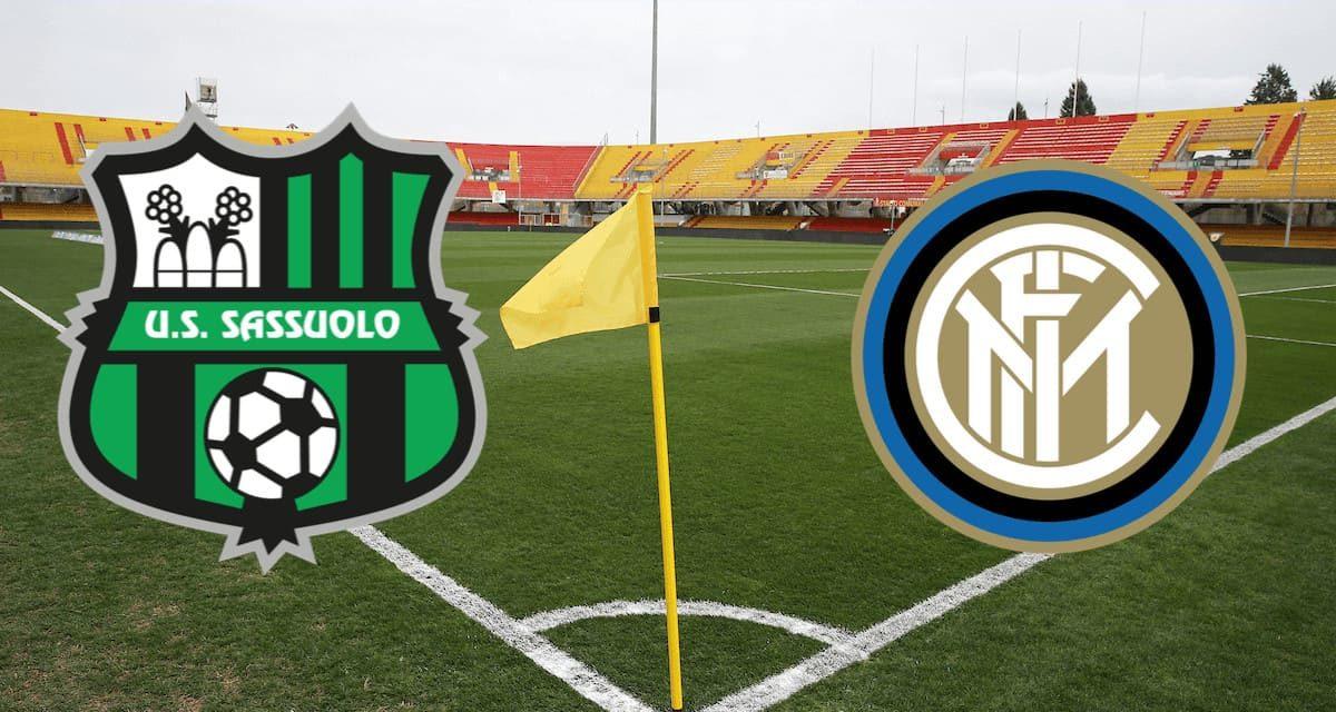 Dove vedere Sassuolo-Inter: TV e streaming, statistiche e probabili formazioni