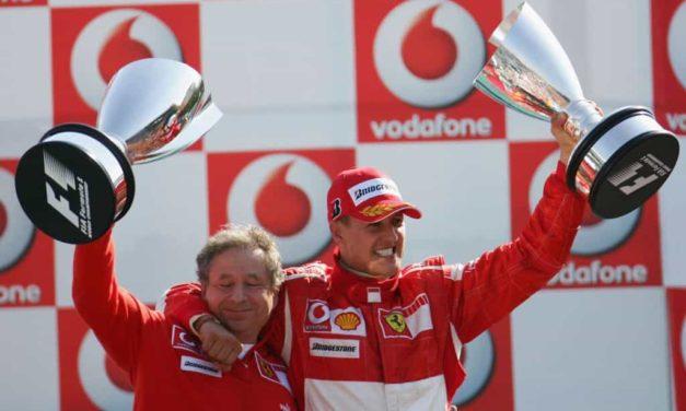"""Formula 1, le parole di Jean Todt: """"Schumacher è un guerriero, non smetterà mai di lottare"""""""