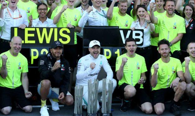 Bottas trionfa in Giappone, sesto mondiale costruttori consecutivo per la Mercedes