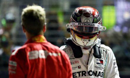 """Formula 1, la provocazione di Hamilton: """"Vettel non è più il numero uno"""""""