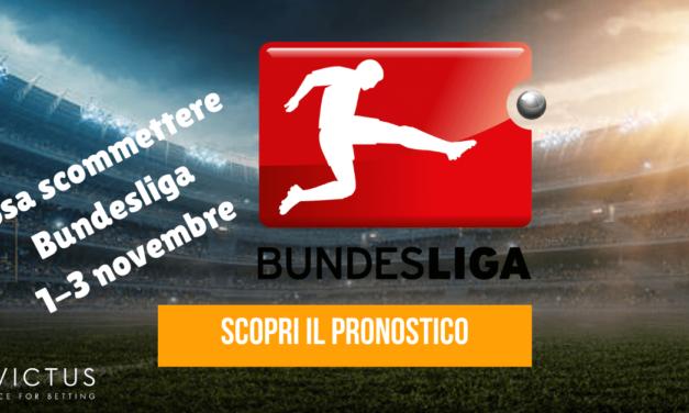 Pronostici Bundesliga: 1-3 novembre