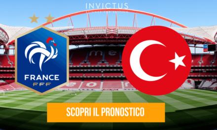 Francia – Turchia: analisi tattica, statistiche e pronostico