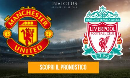 Manchester United – Liverpool: analisi tattica, statistiche e pronostico