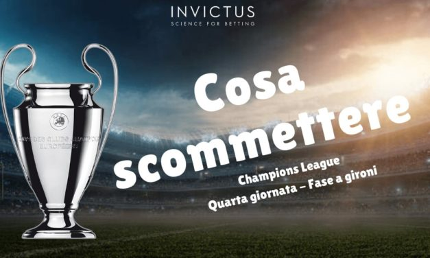 Pronostici Champions League: 4 giornata