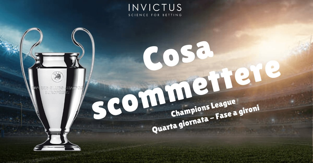 Pronostici Champions League: 4 giornata