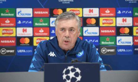 """Ancelotti parla del Napoli: """"Mai pensato alle dimissioni. Non c'è nessun problema con Insigne"""""""