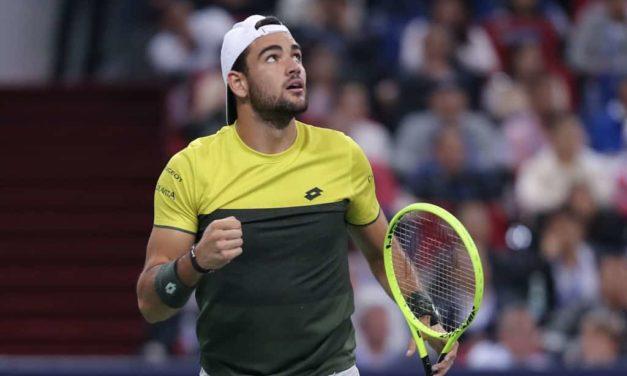 Matteo Berrettini in un girone di ferro alle Atp Finals: giocherà contro Djokovic, Federer e Thiem