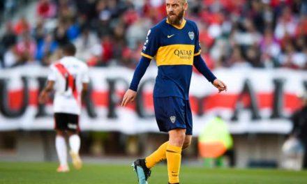 De Rossi rinnova con il Boca Juniors fino al 2021