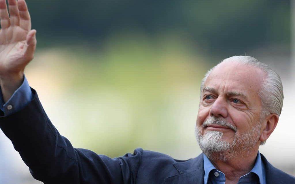 """De Laurentiis punisce il Napoli: """"Squadra in ritiro fino a domenica """""""