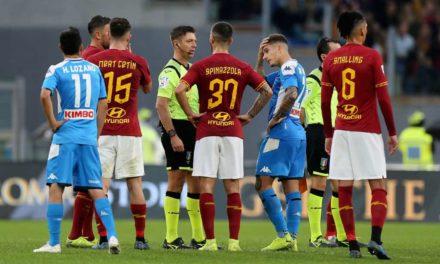 Cori contro Napoli: l'arbitro Rocchi ferma la partita nel secondo tempo