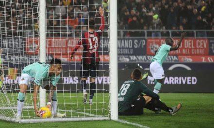 Lukaku show! Il belga segna due goal e l'Inter espugna Bologna