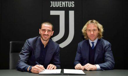Bonucci-Juventus: ufficiale il rinnovo fino al 2024