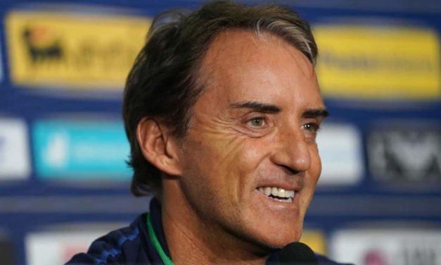 """Mancini: """"Girone equilibrato, non ci dobbiamo sentire favoriti, ma abbiamo il dovere di vincere"""""""