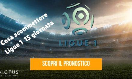 Pronostici Ligue 1: 15 giornata
